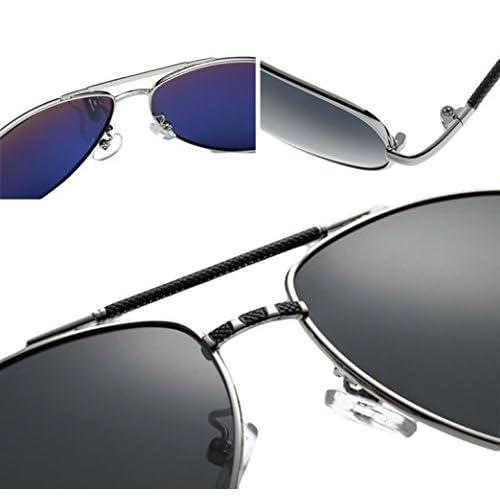 e94f108678 Bueno wreapped MERRYHE Retro Aviador Gafas De Sol Mens Wayfarer Polarizado  UV 400 Lentes De Protección