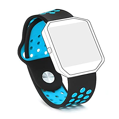 Hanlesi Band for Fitbit Blaze , Silica gel Soft Silicone Adjustable Fashion Replacement Sport Strap Bands for Fitbit Blaze Smartwatch Fitness Wristband