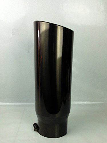 5 tip exhaust black chrome - 9