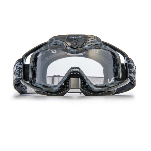 Liquid Image Torque Series 368 BLK368 Blk Goggles Water Resistant Video Camera with 0.5-Inch LCD (Black) (Pov Series Lens)