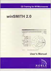 winsmith 2.0 smith chart software and manual