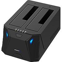 Deals on Sabrent USB 3.0 to SATA I/II/III Dual Bay External Docking Station
