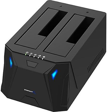 Amazon.com: Sabrent USB 3.0 a SATA I/II/III Dual Bay Docking ...