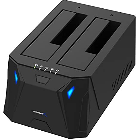 Amazon.com: Sabrent USB 3.0 a SATA I/II/III Dual Bay Docking ...