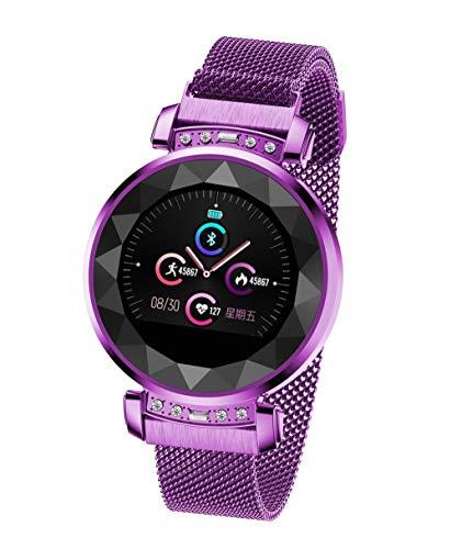 Smart Watch Bracelet DB13 Women Blood Pressure Heart Rate Monitoring Sport Fitness Tracker, Sleep Monitor Waterproof Calorie Counter for Kids Women Men ()