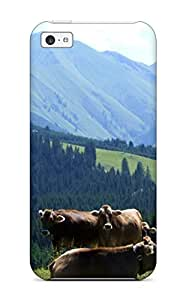 Beth Bolick Perfect Tpu Case For Iphone 5c/ Anti-scratch Protector Case (cow) With Free Screen Protector