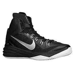 Nike Hyperdunk 2014 Women\'s Basketball Shoe Size 10.5 Black/white/silver