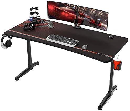 EUREKA ERGONOMIC Gaming Desk 60″ Home Office Computer Desk Review