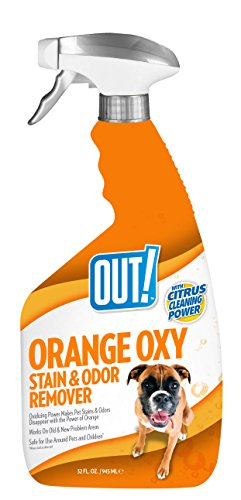 Remover Odor Enzyme (OUT! Orange Oxy Stain and Odor Remover, 32 oz, USA Made)