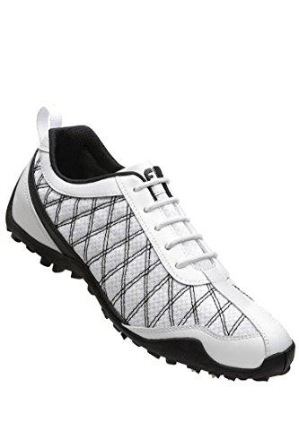 Footjoy Womens Summer Series - FootJoy Women's Summer Series Spikeless Golf Shoes (6-W, White/Black)