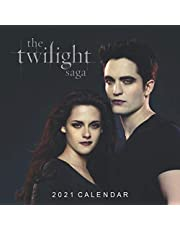 The Twilight Saga: Happy New Year 2021 with this small amazing 8.5''x8.5'' Calendar