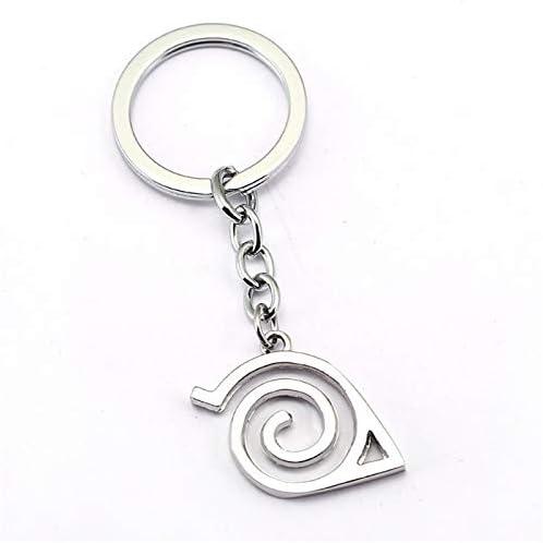 NARUTO Keychain Anime Key Chain Key Ring Holder Pendant