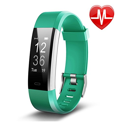 Letsfit Fitness Tracker, Activity Tracker with Heart Rate Monitor and Sleep