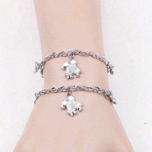 Korea Korean couple bracelet Student villain jewelry lovers