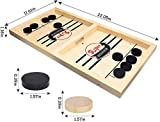 Tinfence Fast Sling Puck Game Paced, Table