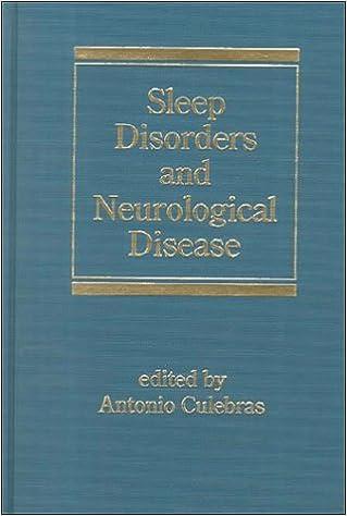 Sleep Disorders and Neurological Disease Neurological Disease & Therapy: Amazon.es: Antonio Culebras: Libros en idiomas extranjeros