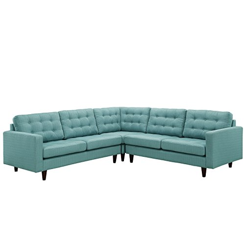 Modway Empress Mid-Century Modern Upholstered Fabric, used for sale  Delivered anywhere in USA