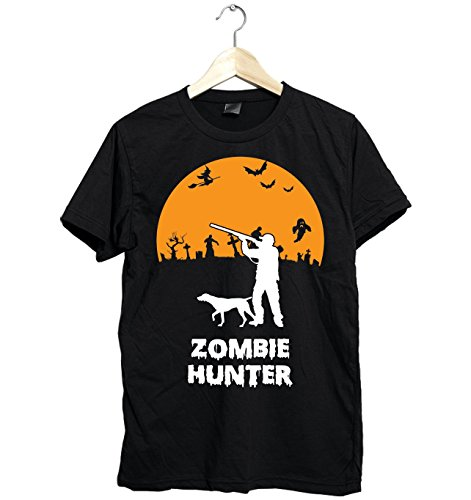 Amazing Hunting Shirt Funny For Halloween Zombie Hunter Gifts Fast Shipping Size Up To 6XL -