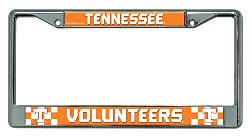 NCAA Tennessee Volunteers Chrome Plate Frame - Tennessee Volunteers College Basketball