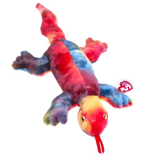 Beanie Buddies Ty Lizzy - Lizard (Baby Beanie Ty Lizard)
