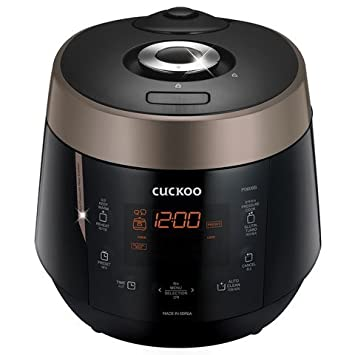 Cuckoo Electric Heating Pressure Rice Cooker CRP-P0609S (Black)
