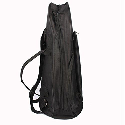 MAOFU Useful Tools Euphonium Gig Bag Euphonium Oxford Cloth Protection Bag w/Strap Black by MAOFU (Image #4)