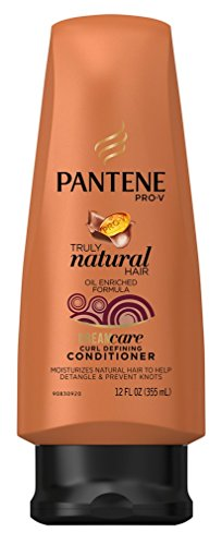 Pantene Truly Natural Curl Defining Conditioner 12oz (3 Pack)