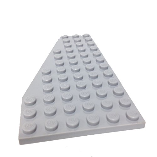 Lego-Parts-Wedge-Plate-6-x-12-Left-LBGray