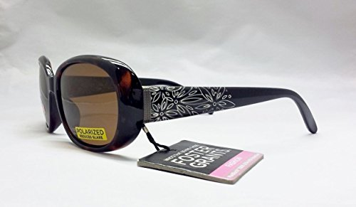 Womans Foster Grant Tortoise Polarized Fashion Driving Sunglasses - Sunglasses Prices Grant Foster