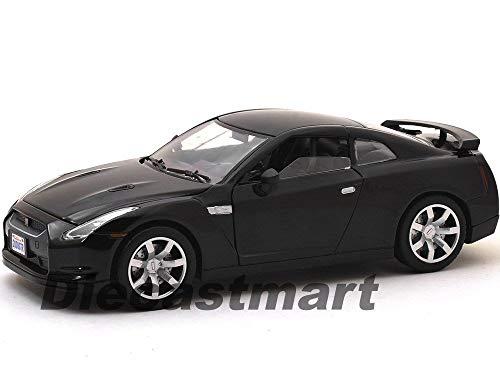 Nissan Skyline GTR R35 Black 1:24 DIECAST Model CAR 73384