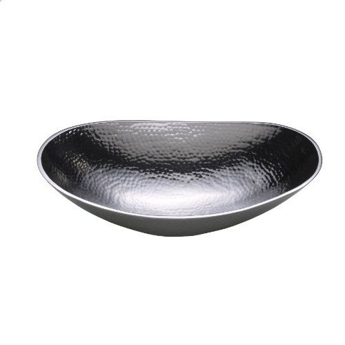 Aluminum Serving Bowl - Towle Hammersmith Oval Serving Bowl, 12-Inch