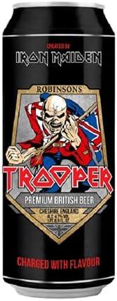 Cerveja Trooper, Lata, 500ml 1un