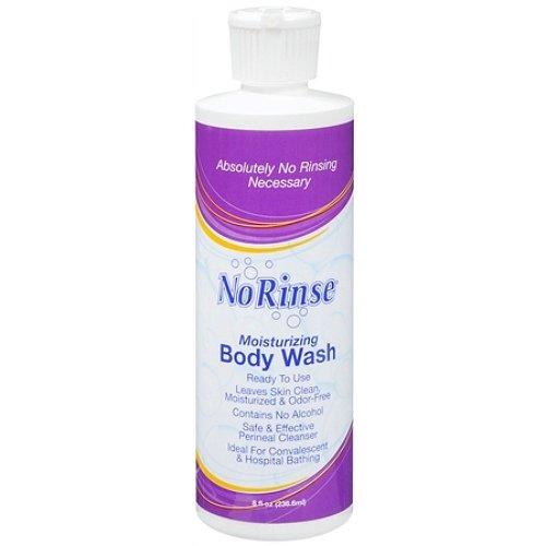No Rinse Moisturizing Body Wash 8 fl oz (pack of 2)
