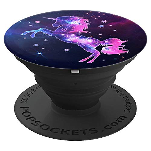 Unicorn Universe Nebula Pink Stars Cosmos Stars Outer Space - PopSockets Grip and Stand for Phones and Tablets