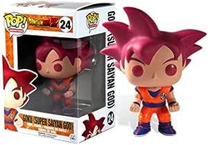 Funko POP! Anime: Dragonball Z Super Saiyan God Goku ...