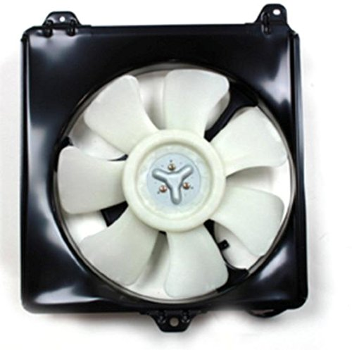 NEW AC CONDENSER FAN ASSEMBLY FITS 1996-2000 TOYOTA RAV4 16363-74190 88454-42021 RAREELECTRICAL