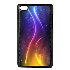 Colorful Stripes iPod Touch 4 Case Black SH6158756