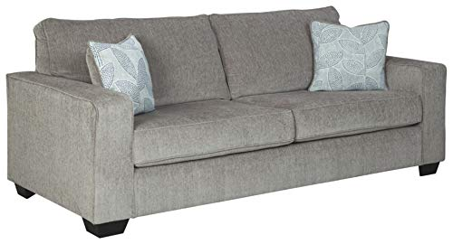 Signature Design by Ashley - Altari Modern Sofa Sleeper, Alloy