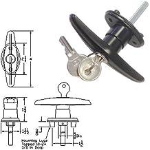 Truck Cap Locking T-Handle - Clockwise