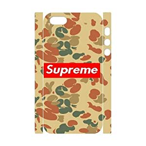 Printed Cover Protector iphone5 5S 3D Cell Phone Case White Supreme Ogwwi Unique Design Cases