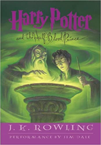 Harry Potter And The Half Blood Prince Jk Rowling Jim Dale