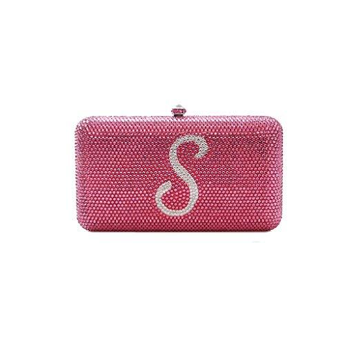 Petit Perle Blanc Sac Dîner couleur Fan D'honneur Lady Mobile Demoiselle Banquet Pink Pink Manufacture Femelle Pochette Argent De Main Téléphone Robe À Oyy Slung wqFRI4F