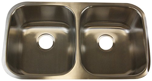AdityaSink AI-50/50 16 Gauge Under Mount Sink Ai-50/50 16 Gauge Under Mount Sink by AdityaSink