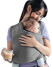 Lilly and Ben® Bärsjal-ar - elastik bindel barn nyfödd - 100% ekologisk bomull