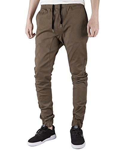 ITALY MORN Men's Chino Jogger Pants