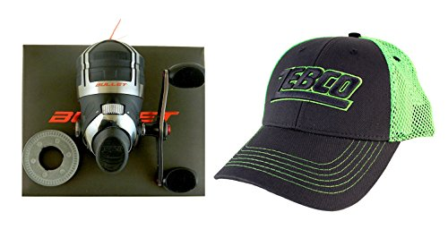 Bundle – Zebco Bullet 5.1:1 Gear Ratio 9 Bearing Spincast Fishing Reel with Hat Review