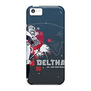 Pretty JNh9934RKiD Iphone 5c Cases Covers/ New England Patriots Series High Quality Cases