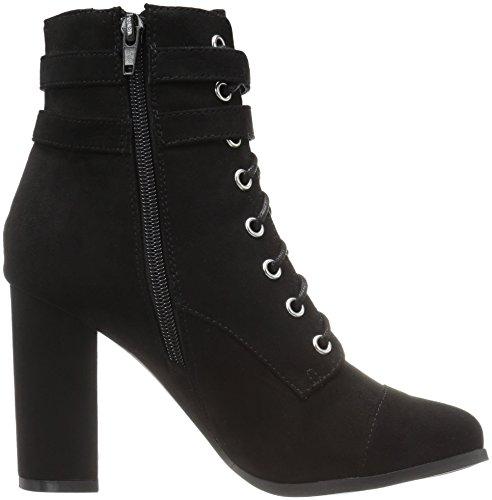 Madden Frauen Fabric Girl Klaim Black Geschlossener Zeh Fashion Stiefel rZr5nqwBx