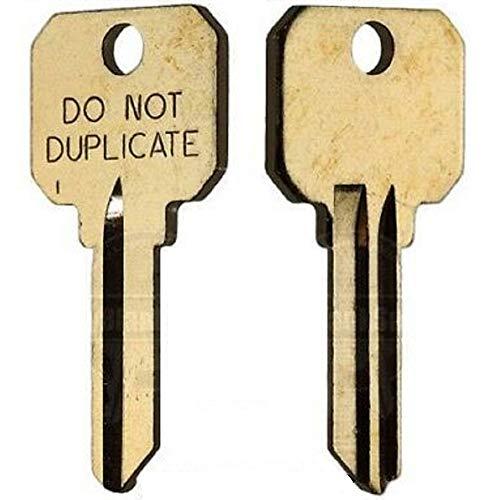 MSPowerstrange 50 Key Blanks / SC4 DND DO NOT Duplicate 6-PIN/Key Blanks for Locksmith / 50 Keys by Ilco