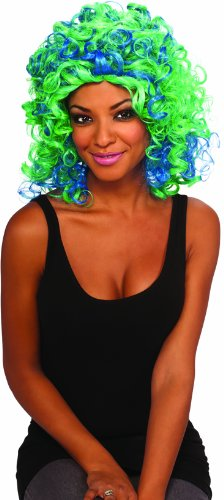 Teal Dragon Costumes - Rubie's Dragon Doll Adult Costume Wig,
